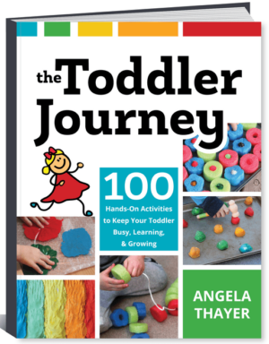 Toddler learning activities book