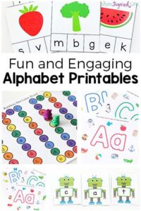 Alphabet Printables for Hands-On Learning