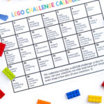 Totally Awesome LEGO Challenge Calendar