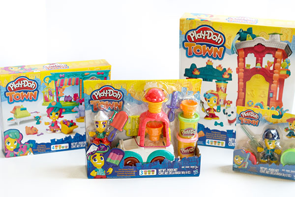 Play-Doh Town toys provide a fun way for kids to engage their imagination and creativity while participating in pretend play.