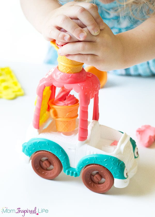 Ice cream truck play dough activity that kids will love!