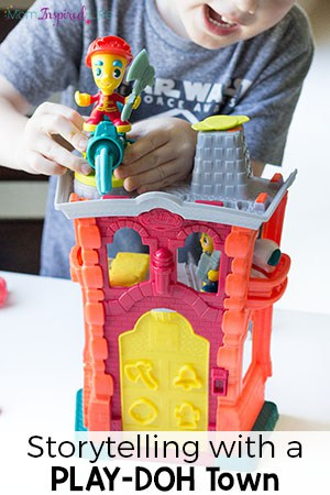 Creative Storytelling with a PLAY-DOH Town