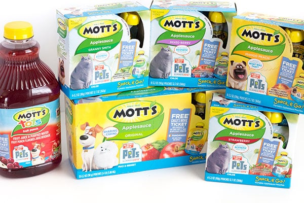 Motts applesauce is one of our favorites and perfect for making frozen applesauce snacks.
