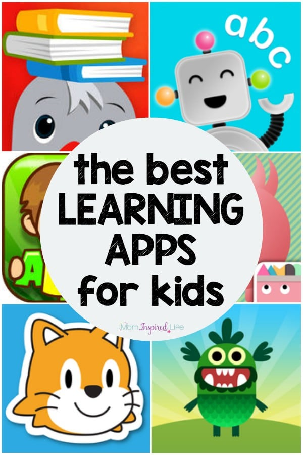 This a list of the best educational apps for kids! They were on a variety of skills from reading to math to logic and coding. They are all fun and engaging learning apps!