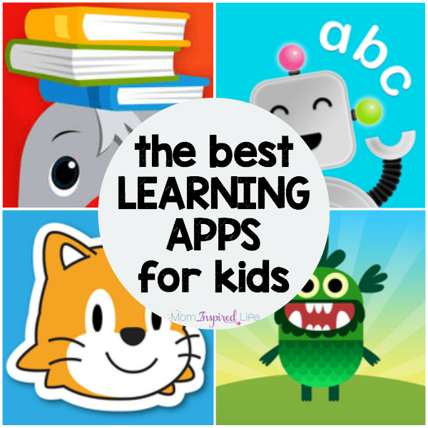 These are the best educational apps for kids. They are all perfect for preschoolers, kindergarten students and early elementary learners.