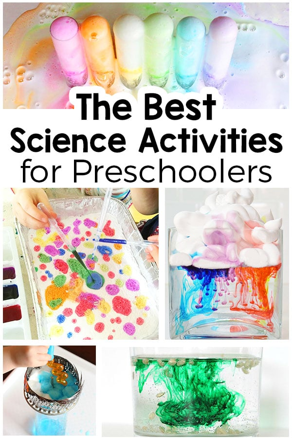30 science activities for preschoolers that are totally awesome