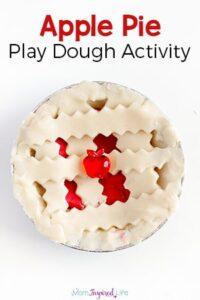 Apple Pie Play Dough Activity that Smells so Good