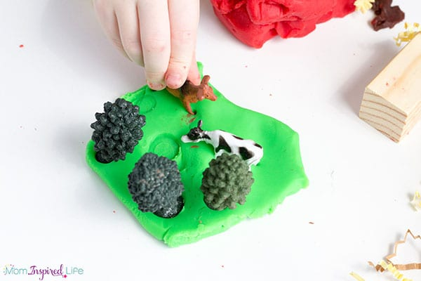 Farm activity for toddlers