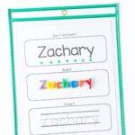 Editable Name Spelling and Tracing Printables