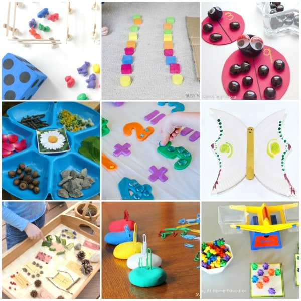 STEM activities for preschool and pre-k.
