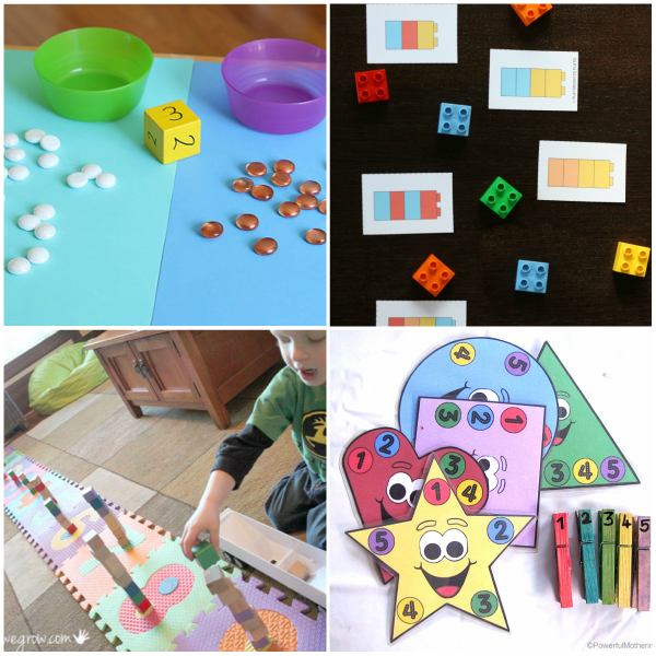 Preschool math activities that are fun!