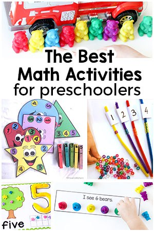 Preschool Math Activities that are Super Fun!