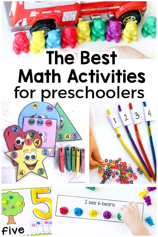 hands on learning activities for preschoolers 40 preschool math activities that are 188