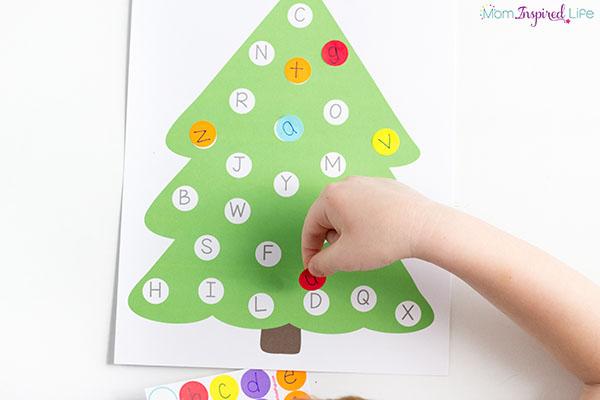 A super fun Christmas alphabet activity!