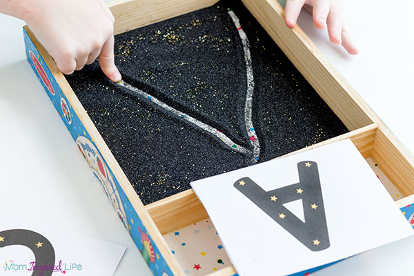 This star themed writing activity is perfect for a constellation theme.