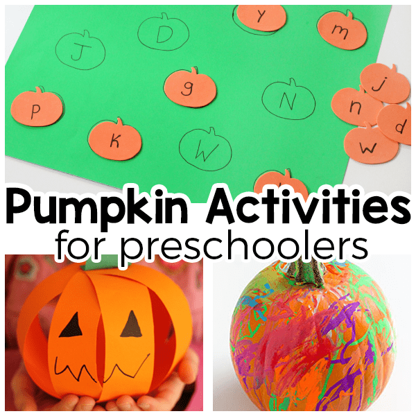 Pumpkin activities for fun and learning this fall.