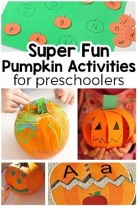 Super Fun Pumpkin Activities for Preschoolers