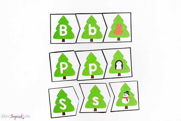 Christmas beginning sounds puzzles