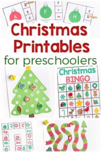 Christmas Printables for Preschoolers – Fun and Learning!