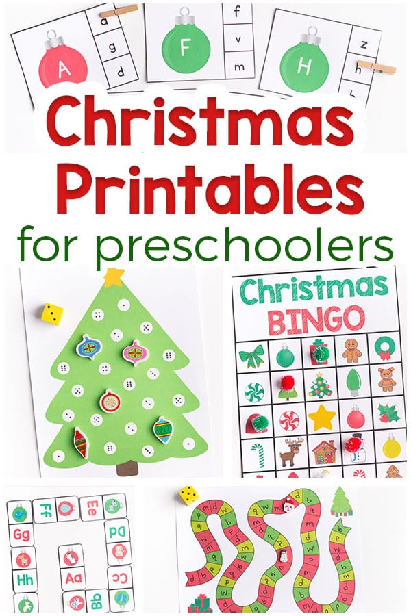 photograph relating to Printable Puzzles for Preschoolers named Xmas Printables for Preschoolers - Enjoyment and Understanding!
