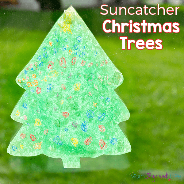 Fun Christmas art activity for preschoolers!
