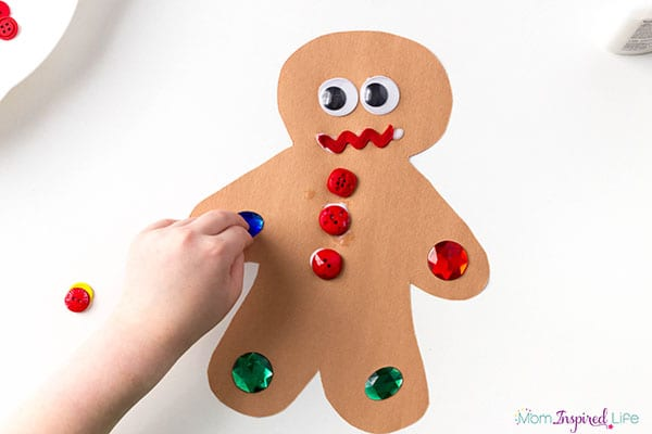 Gingerbread Man Art Activity 52