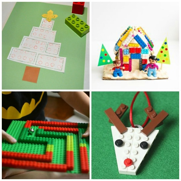 Fun and easy LEGO activities for Christmas!