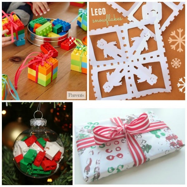 LEGO Christmas ideas for kids!
