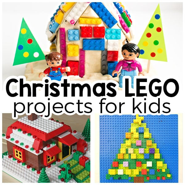 LEGO Christmas projects and activities for kids!