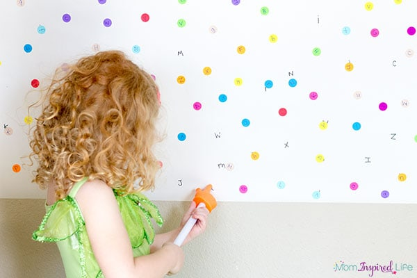 This alphabet I Spy activity is a super fun way to teach the alphabet!