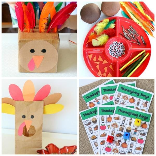 Thanksgiving fun for kids.