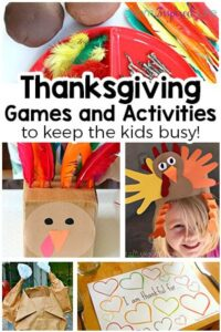 Thanksgiving Games and Activities for Kids