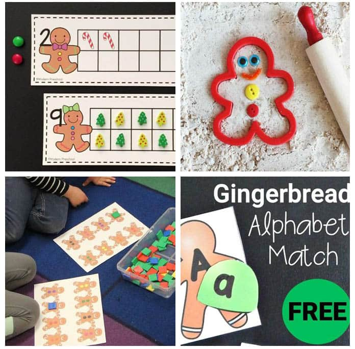 These gingerbread Christmas activities cover all subject areas and are super fun!