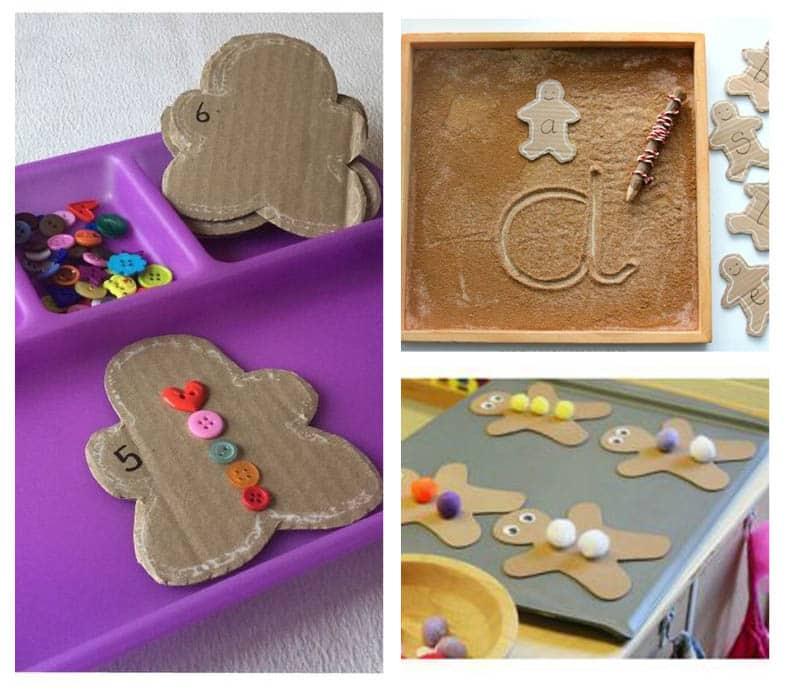 Fun, hands-on preschool gingerbread activities.