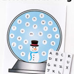 Snowman Alphabet Activity and Printable