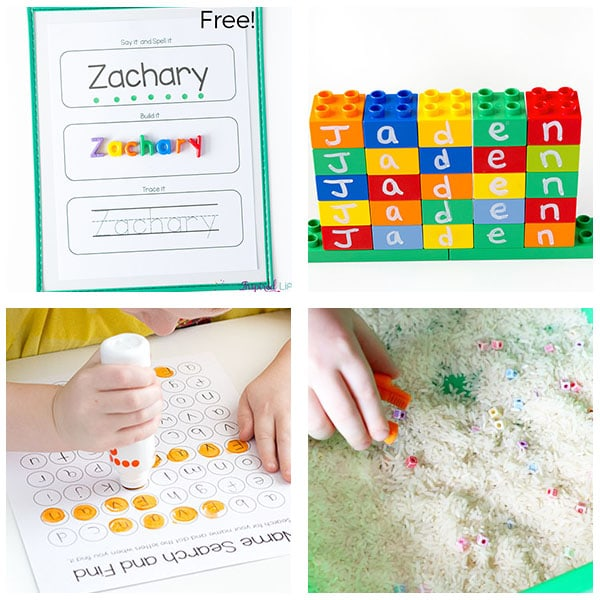 Preschool name activities that are super fun!