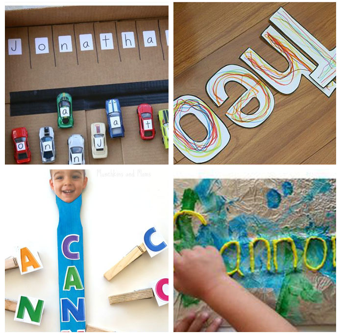 Name activities for preschool.