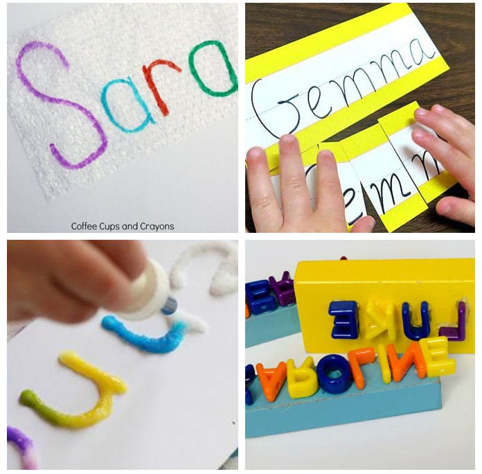 Teaching names to preschoolers