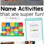 Teaching Names to Preschoolers with Fun Activities