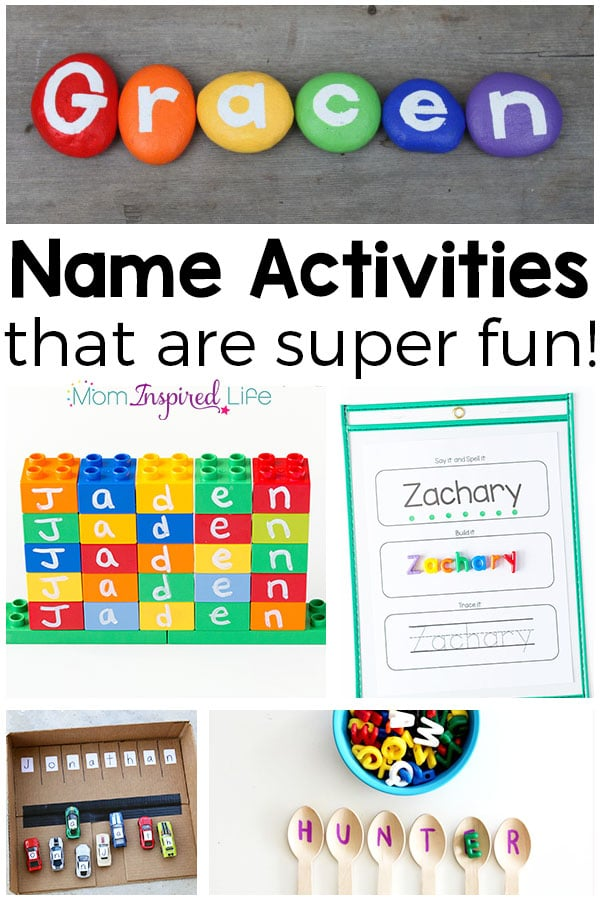 Teaching Names To Preschoolers Can Be Totally Fun When You Use These Name Activities