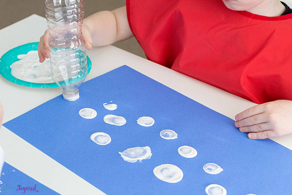 Winter art projects for preschool and pre-k.