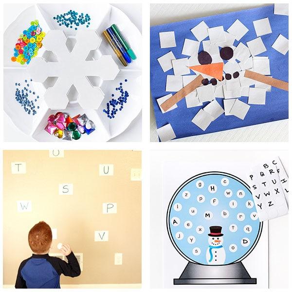 Fun winter activities for kids.