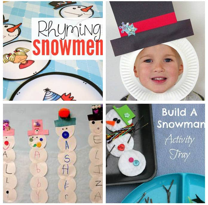 Winter games and songs for preschool.