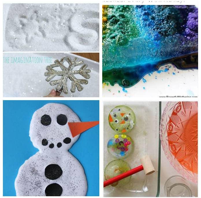 Winter preschool activities.
