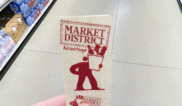 Market District Advantage Card