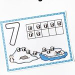 Penguin Counting Mats for 1-20