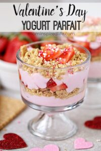 Strawberry Yogurt Parfait for Kids
