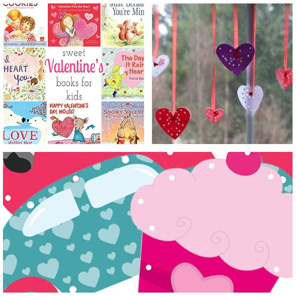 Valentine's Day theme lesson plans.