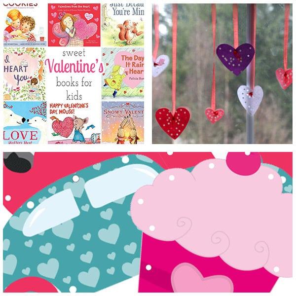 Valentine's Day theme lesson plans.