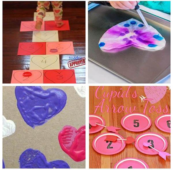Preschool heart activities